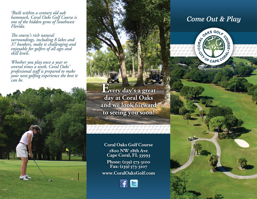 coral oaks golf cape coral